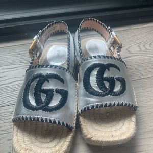 Woven Gucci Sandler's